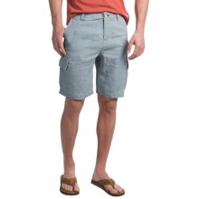 True Grit Sun Bleach Cargo Shorts (For Men) in Faded Blue - Closeouts