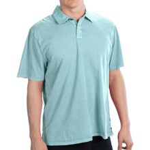 True Grit Surf Polo Shirt - Cotton, Short Sleeve (For Men) in Soft Blue - Closeouts