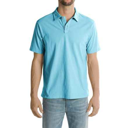 True Grit Surf Polo Shirt - Short Sleeve (For Men) in Crystal Blue - Closeouts