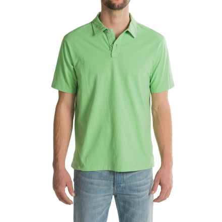 True Grit Surf Polo Shirt - Short Sleeve (For Men) in Limelight - Closeouts