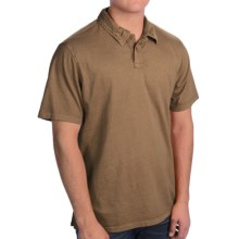 True Grit Surf Polo Shirt - Short Sleeve (For Men) in Moss - Closeouts