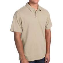 True Grit Surf Polo Shirt - Short Sleeve (For Men) in Pebble - Closeouts