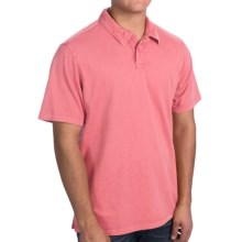 True Grit Surf Polo Shirt - Short Sleeve (For Men) in Pink - Closeouts