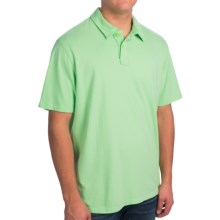 True Grit Surf Polo Shirt - Short Sleeve (For Men) in Surf Green - Closeouts