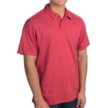 True Grit Surf Polo Shirt - Short Sleeve (For Men) in Vintage Red - Closeouts