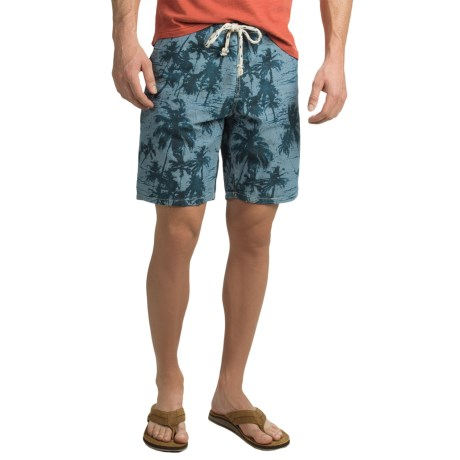 True Grit The Palms Chambray Shorts (For Men)