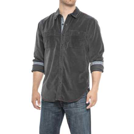 True Grit The Royalton Shirt - Long Sleeve (For Men) in Charcoal - Overstock
