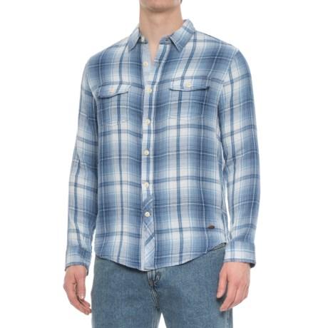 True Grit Twin Arrows Shirt - Long Sleeve (For Men) in Indigo