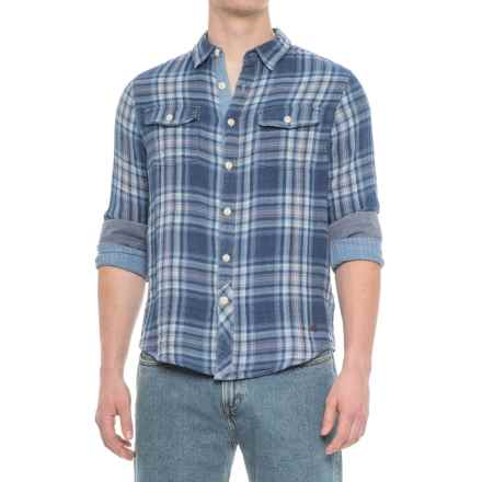 True Grit Two Guns Shirt - Long Sleeve (For Men) in Indigo - Overstock
