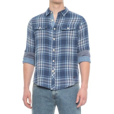 True Grit Two Guns Shirt - Long Sleeve (For Men) in Indigo