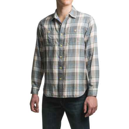 True Grit Ventura Shirt - Long Sleeve (For Men) in Natural - Closeouts