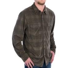 True Grit Vintage Corduroy Shirt - Button Front, Long Sleeve (For Men) in Khaki - Closeouts