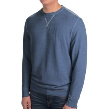 True Grit Vintage Fleece Sweater (For Men) in Vintage Indigo - Closeouts