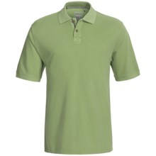 True Grit Vintage Pique Polo Shirt - Short Sleeve (For Men) in Vintage Pine - Closeouts