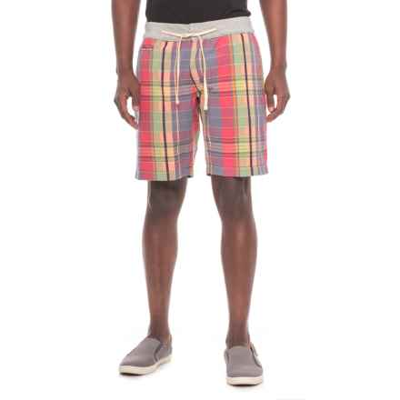True Grit Vintage Plaid Drawstring Shorts (For Men) in Multi - Closeouts
