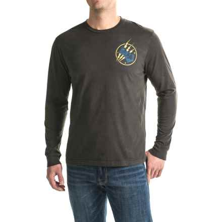 True Grit Vintage Screenprint T-Shirt - Long Sleeve (For Men) in Vintage Black - Closeouts