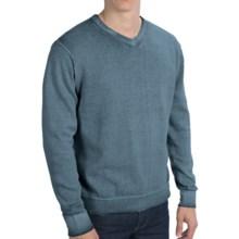 True Grit Vintage Sweater - V-Neck (For Men) in Industrial Blue - Closeouts