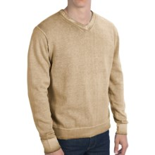 True Grit Vintage Sweater - V-Neck (For Men) in Old Gold - Closeouts