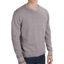 True Grit Vintage Sweater - V-Neck (For Men) in Vintage Black - Closeouts