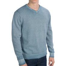True Grit Vintage Sweater - V-Neck (For Men) in Vintage Chambray - Closeouts