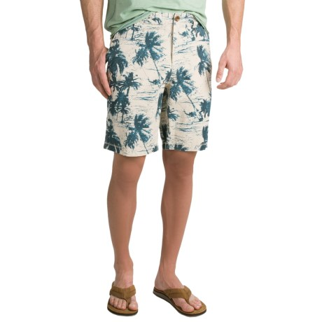 True Grit Vintage The Palms Signature Shorts (For Men)