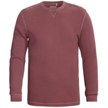 True Grit Vintage Thermal Shirt - Long Sleeve (For Men) in Clay Red - Closeouts