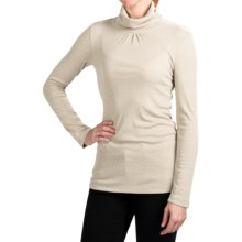 True Grit Vintage Turtleneck Sweater (For Women) in White - Closeouts