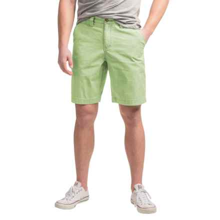 True Grit Vintage-Washed Chino Shorts (For Men) in Vintage Green - Closeouts
