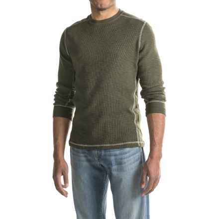 True Grit Waffle-Knit Thermal Shirt - Smooth Sides, Long Sleeve (For Men) in Jeep - Closeouts
