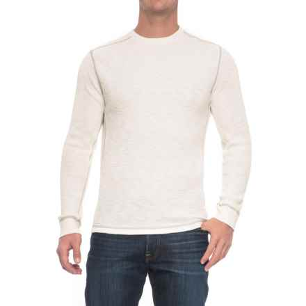 True Grit Waffle-Knit Thermal Shirt - Smooth Sides, Long Sleeve (For Men) in White - Closeouts