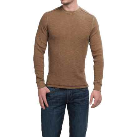 True Grit Waffle Thermal Shirt - Long Sleeve (For Men) in Dark Rye - Closeouts