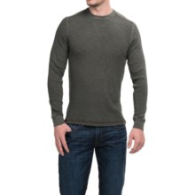 True Grit Waffle Thermal Shirt - Long Sleeve (For Men) in Vintage Black - Closeouts