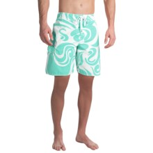 True Grit Waterman Mai Tai Boardshorts (For Men) in Aqua - Closeouts