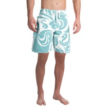 True Grit Waterman Mai Tai Boardshorts (For Men) in Blue - Closeouts