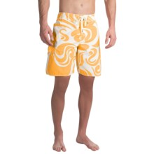True Grit Waterman Mai Tai Boardshorts (For Men) in Gold - Closeouts