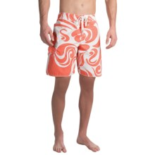 True Grit Waterman Mai Tai Boardshorts (For Men) in Red - Closeouts