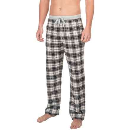 True Grit Whiskey Flannel Lounge Pants (For Men) in Black - Closeouts