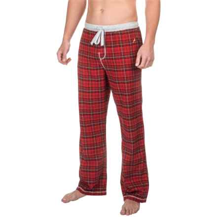 True Grit Whiskey Flannel Lounge Pants (For Men) in Red - Closeouts