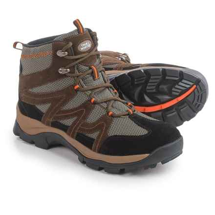 True North Park City Hiking Boots (For Men) in Brown/Orange - Closeouts