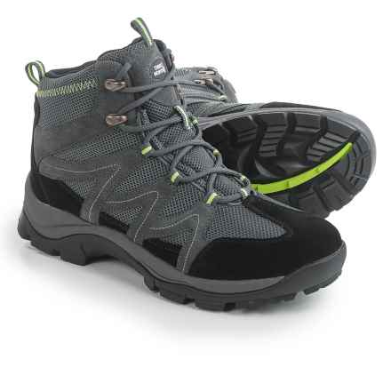 True North Park City Hiking Boots (For Men) in Gray/Green - Closeouts