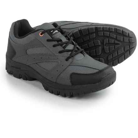 True North Taos Low Hiking Shoes - Waterproof (For Men) in Gray/Black - Closeouts