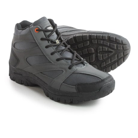 True North Taos Mid Hiking Boots - Waterproof (For Men) in Gray/Black