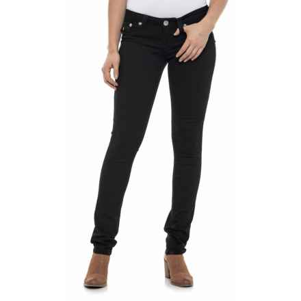 True Religion Flap Pocket Skinny Jeans (For Women) in Body Rinse - Closeouts