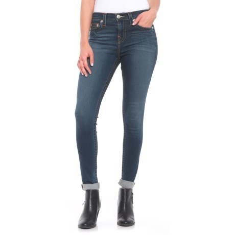 True Religion High-Rise Super Skinny Jeans (For Women) in Autumn Nights
