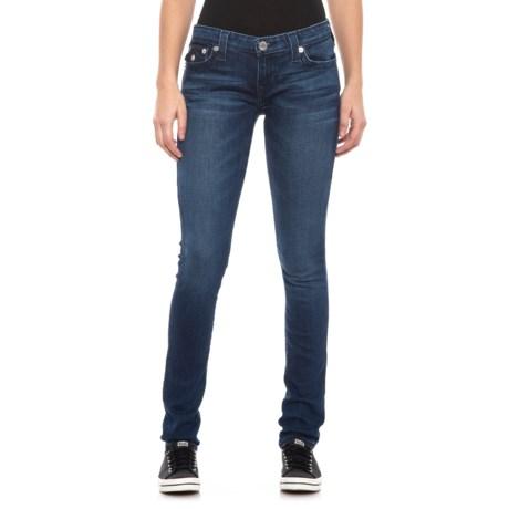 88ca09f62 True Religion Midnight Bloom Stella Skinny Jeans (For Women) in Midnight  Bloom