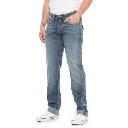 True Religion Morning Haze Geno Slim Jeans - Relaxed Fit (For Men) in Morning Haze - Closeouts