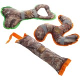 True Timber Ruff and Tuff Dog Toys - Set of 3