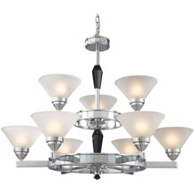 Trump Home Central Park Mercer Chandelier - 9-Light in Polished Chrome - Closeouts