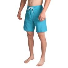 Trunks Surf & Swim Co. Saltie Solid Boardshorts (For Men) in Hawaiian Ocean - Closeouts