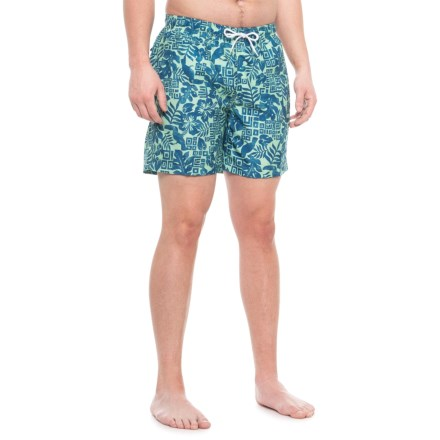 bf477b95b4 Trunks Surf & Swim Co Sano Short Printed Tribal Swim Trunks (For Men) in